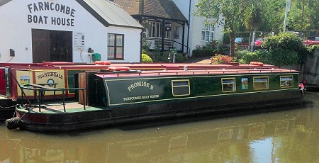 Narrowboat named Promise
