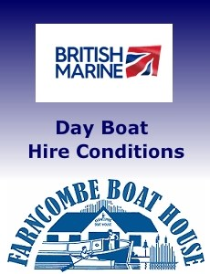 Conditions of Hire Document for Day Boats