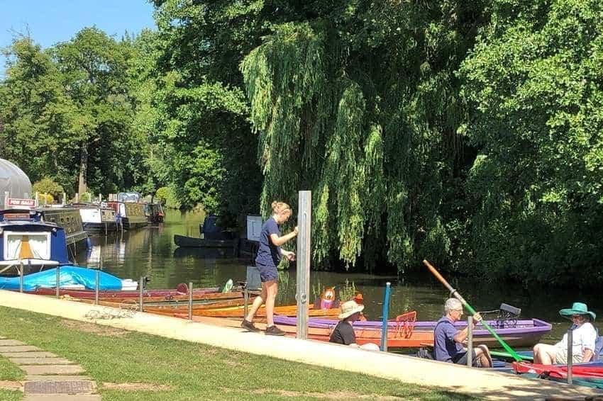 Rowboats Farncombe Boat House