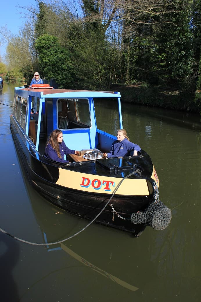 Dot the little Day Boat for Hire from Farncombe Boats (1)