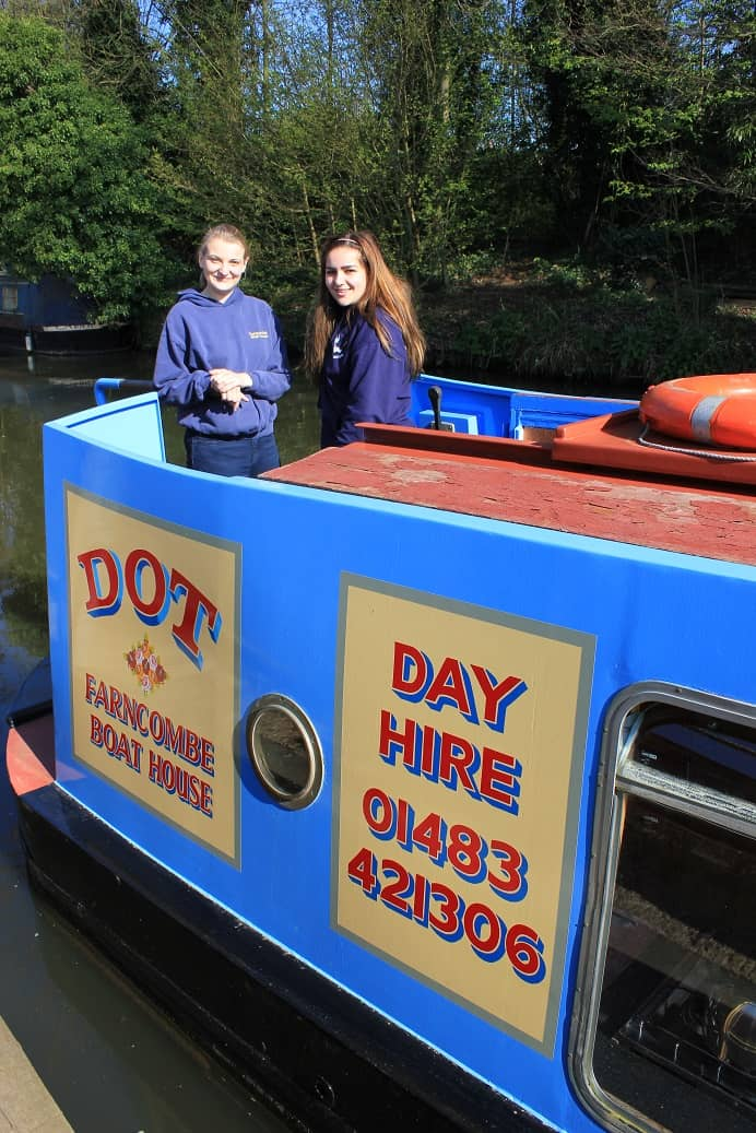 Dot the little Day Boat for Hire from Farncombe Boats (5)